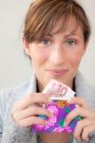 货币口袋钱包 免版税库存照片