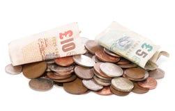 货币堆英镑 免版税库存图片