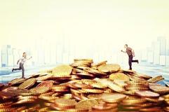 货币挑战 库存图片