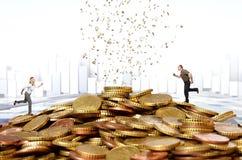货币挑战 免版税库存照片