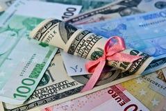 货币收益 免版税库存图片