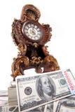 货币时间财富 库存照片