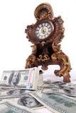货币时间财富 免版税图库摄影
