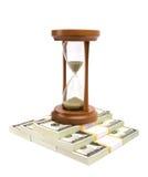 货币时间 免版税库存照片