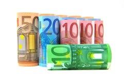 货币欧元 图库摄影