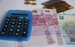 20 50 100 500货币欧洲欧洲 免版税库存图片