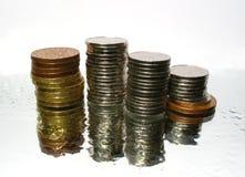 货币水 免版税库存照片