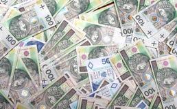 货币波兰 图库摄影