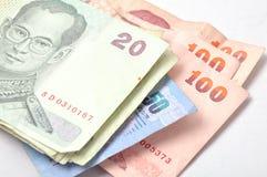 货币泰国 库存照片