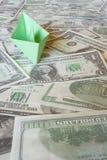 货币海运 库存照片