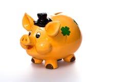 货币猪 免版税库存图片