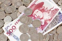 货币瑞典 库存照片