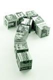 货币移动 免版税图库摄影