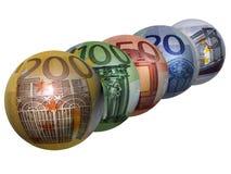 货币移动 免版税库存图片
