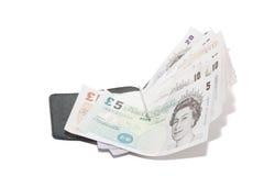 货币纸镑 库存照片
