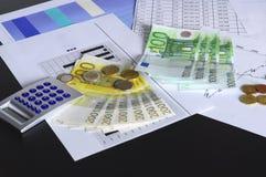 货币表 免版税图库摄影