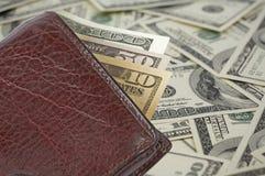 货币钱包 图库摄影
