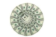 货币钱包 库存照片