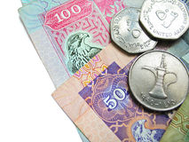 货币阿拉伯联合酋长国 库存照片