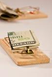 货币陷井 免版税库存照片