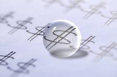 货币预测 免版税图库摄影