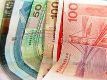 货币香港纸张 库存照片