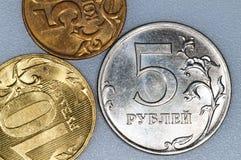 货币rubel俄国 免版税图库摄影
