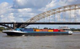 货柜船 免版税库存图片