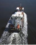 货柜船 免版税图库摄影
