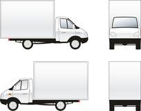 货物卡车 皇族释放例证