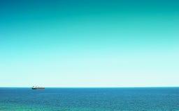 货物大海运船 图库摄影