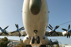 货物大量飞机 免版税库存图片