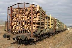 货物木料 库存图片