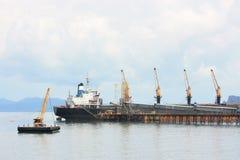 货物海上运输 免版税库存图片