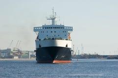 货物港口船 免版税图库摄影