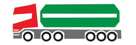 货物负荷形状唯一卡车 免版税图库摄影