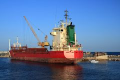 货物通用船 免版税库存图片