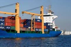 货物holandia船 免版税图库摄影