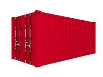 货箱 向量例证