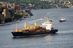 货船 免版税库存图片