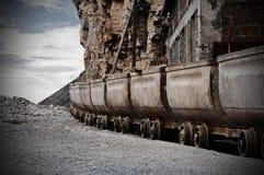 货车无盖货车 库存图片