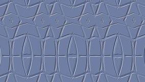 质地蓝色背景 从几何条纹的压印的样式 免版税库存图片