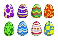 质朴的复活节彩蛋 库存照片