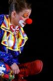 质朴的小丑 免版税库存照片