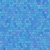 质朴的模式正方形 库存例证