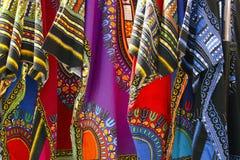 质朴的织品 库存照片