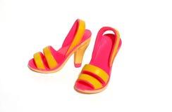 质朴的鞋子 免版税库存照片