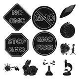 质量和实验室标志传染媒介设计  质量和基因上储蓄传染媒介例证的汇集 向量例证