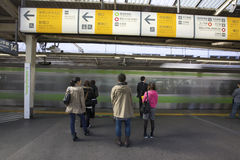 质量系统东京运输 免版税图库摄影