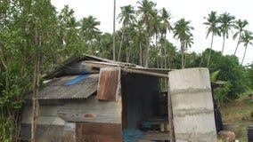 贫民窟在热带亚洲 股票视频